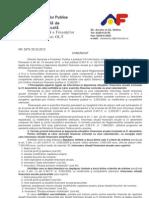 Depunerea Sit Fin 2012 - Comunicat ANAF