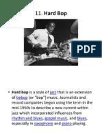Jazz History 11