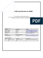 Bank Https-XML Specification Document