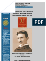 Nikola Tesla - The Genius Who Lit the World - Www-teslasociety-com