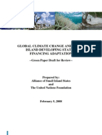 CLIMATECHANGEAOSIS_GreenPaper_Feb52008_