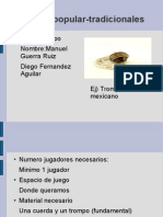 Manuel Guerra y Diego Fdez 1ºG trompo
