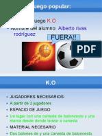Alberto rivas 1ºE KO