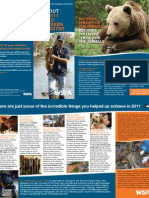 WSPA 2011 Achievements Brochure