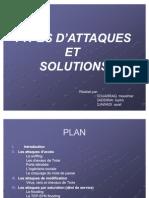 Attaques Et Solutions