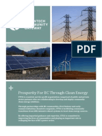 Prosperity For BC Through Clean Energy