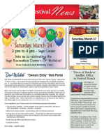 2012 March Newsletter