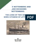 Walter Wittenberg and Marie Eichhorn Wittenberg