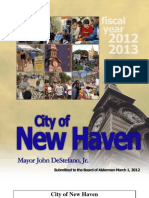 New Haven Proposed Budget 2012 13