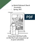 Newsletter Spring 12