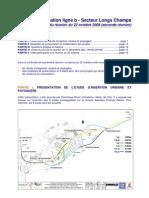 CR Réunion du 22/10/08 - Concertation Longs-Champs