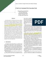 [2009][CON ] Comparison of Unit-Level Automated Test Generation Tools