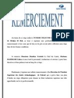 Rapport de Stage Aymen