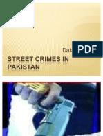 Street Crimes