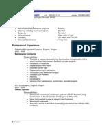 Resume 2008