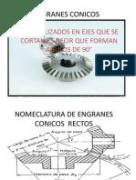 ENGRANES CONICOS