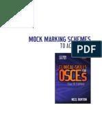 OSCES Marking