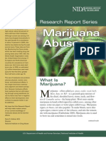 Marijuana Abuse (Research Reports)