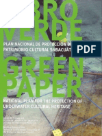 Libro Verde Plan Nacional de Proteccion del Patrimonio Cultural Subacuatico Español