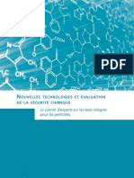 Nouvelles technologies et évaluation de la sécurité chimique