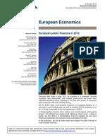 77910335 CS European Public Finances 2012