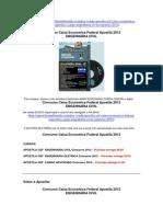 Apostila Caixa Economica Federal Engenharia Civil Concurso 2012