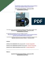 Concurso Caixa Economica Federal Engenharia Eletrica Apostila 2012