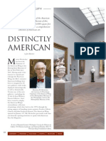 Interview with the Chairman of the New American Wing at the Metropolitan Museum of Art