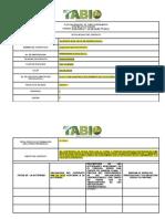 Informe Mensual de Actividades