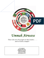 Ummah Airways - Business Plan