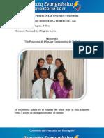 Informe Misionero a Febrero 2012-Cartagena