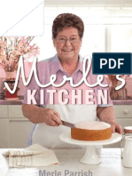 March Sample Chapter - Peach Blossom Cake Recipe by Merle Parrish