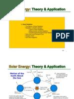 Solar Course 1 - Lecture 3