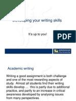 Developing Writing Skills Compatibility Mode