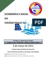 Programa Definitivo_II FÓRUM ECONÓMICO E SOCIAL DO COLÉGIO PAULO VI