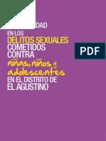 La impunidad en los delitos sexuales cometidos contra niñas, niños y adolescentes en el distrito de El Agustino