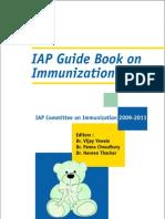 Iap Guide Book on Immunization 2009-2011