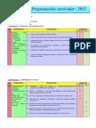 Programacion Curricular Liceth