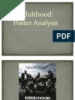 Kidulthood Poster Analysis