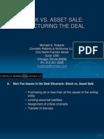 Asset vs Stock Sale