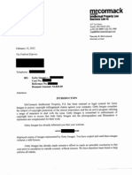 Attorney Timothy B. McCormack Settlement Demand Letter