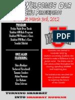 Yismichu 2nd Shabbat of 2011-2012