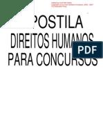 Apostila Direitos Humanos Para Concursos