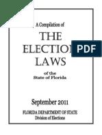 Florida 2011 Election Laws
