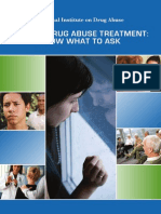 Seeking Drug Abuse Treatment