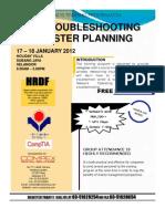 LAN Troubleshooting & Disaster Planning 17-18 January 2012 (1)[1]
