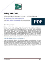 Extrait Etude Forrester Sizing the Cloud