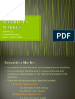 Securities Market [Finance]