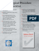 Diathermy Safety Brochure