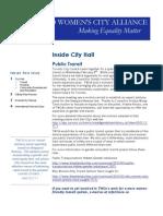 February Municipal Update